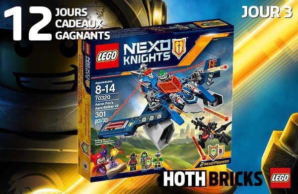 LEGO Nexo Knights 70320 Aaaron Fox's Aero-Striker V2