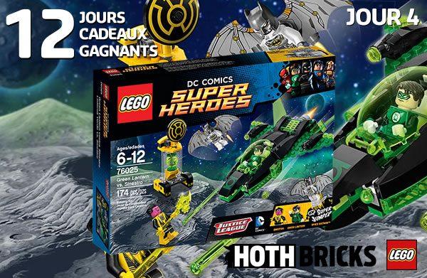 LEGO DC Comics Super Heroes 76025 Green Lantern vs Sinestro
