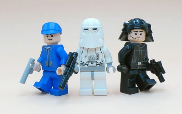 LEGO Star Wars Advent Calendar : Bespin Guard, Snowtrooper et Imperial Navy Trooper