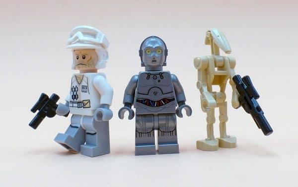 LEGO Star Wars Advent Calendar 2016 : Hoth Rebel Trooper, U-3PO et Battle Droid