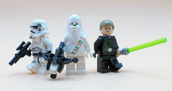 LEGO Star Wars Advent Calendar 2016 : Stromtrooper, Chewbacca et Luke Skywalker