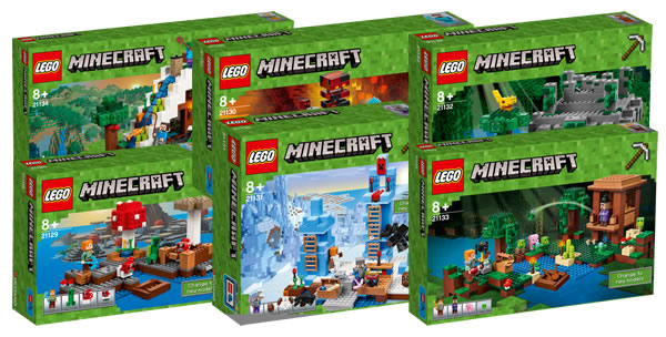 nouveaut s lego minecraft et speed champions 2017 quelques visuels officiels hoth bricks. Black Bedroom Furniture Sets. Home Design Ideas