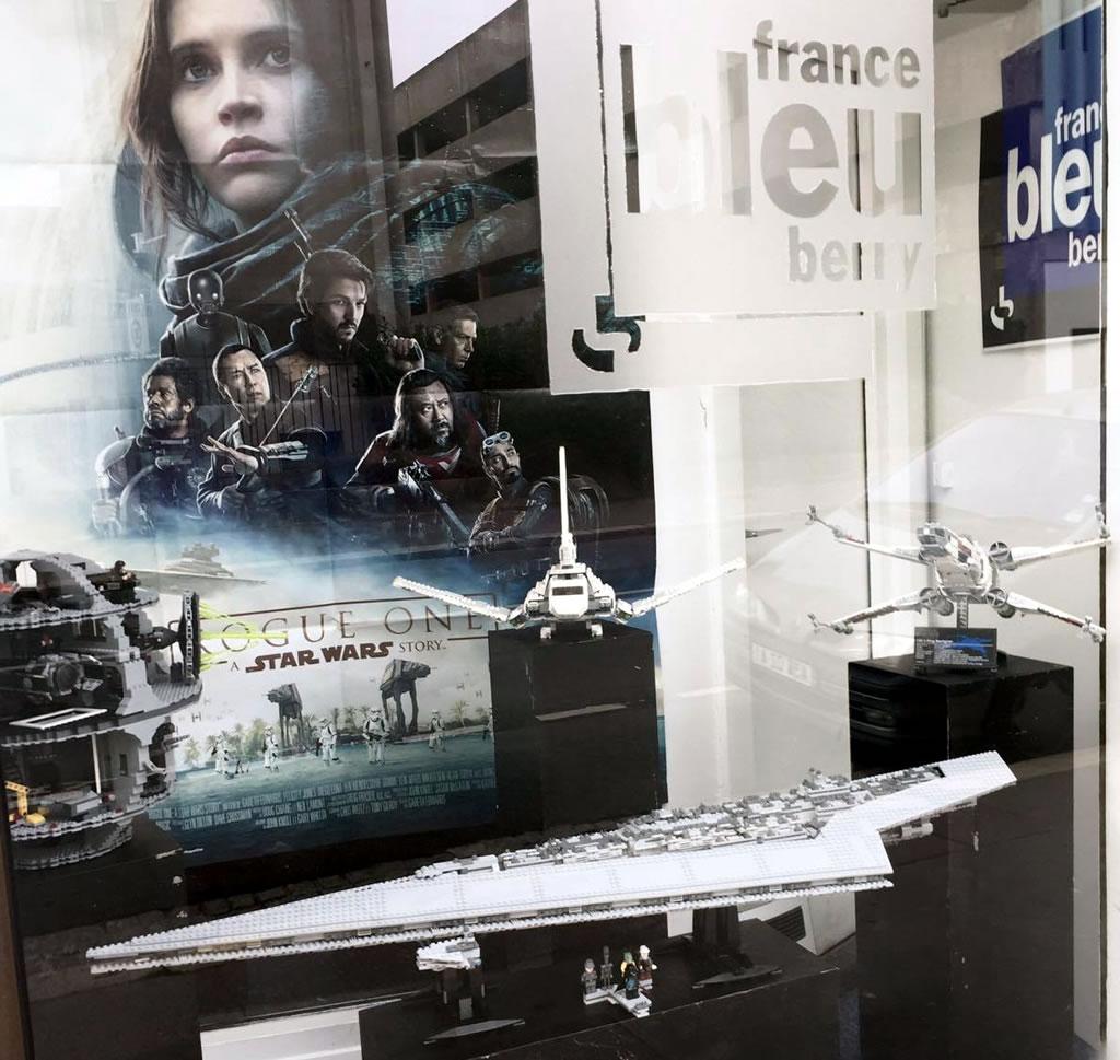 Clin D œil Une Vitrine Lego Star Wars Chez France Bleu Berry