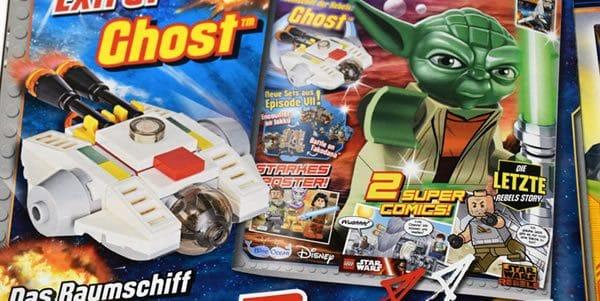 Magazine LEGO Star Wars : Un micro Ghost avec le N°20