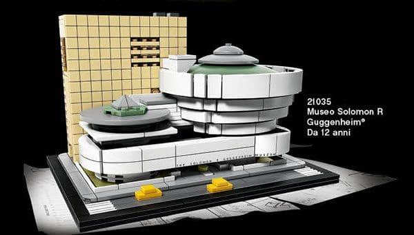 LEGO Architecture 21035 Solomon R. Guggenheim Museum