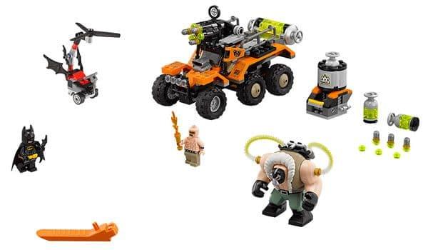 The LEGO Batman Movie : 70914 Bane Toxic Truck Attack