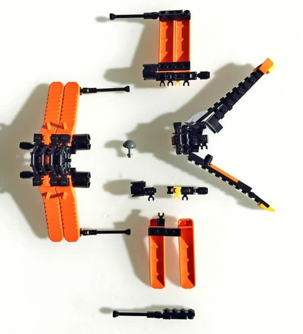 X-Wing with the Brick Separator Tool (Did&TheBricks)
