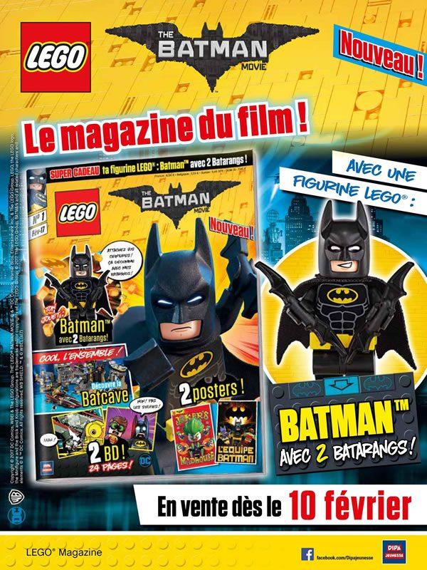 The LEGO Batman Movie : Le magazine du film - Numéro 1 (février 2017)