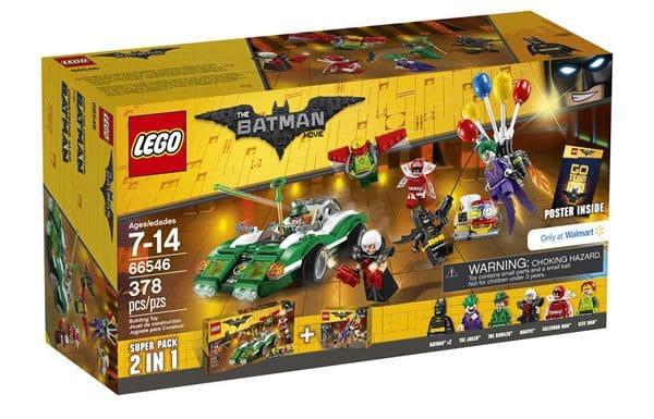 66546 The LEGO Batman Movie Super Pack 2in1