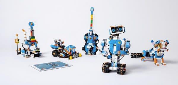 LEGO Boost 17101 Creative Toolbox : Pour créer des robots dès 7 ans
