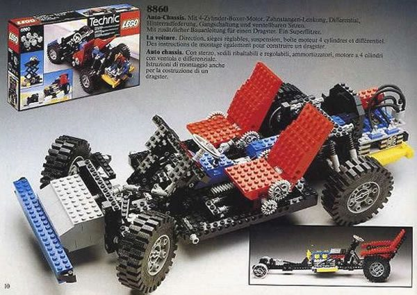 LEGO Technic 8860 Car Chassis