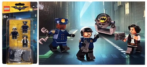 853651 The LEGO Batman Movie Minifigures Pack (incl. Chief O'Hara)