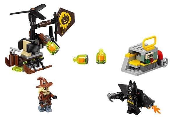 The LEGO Batman Movie : 70913 Scarecrow Fearful Face-off