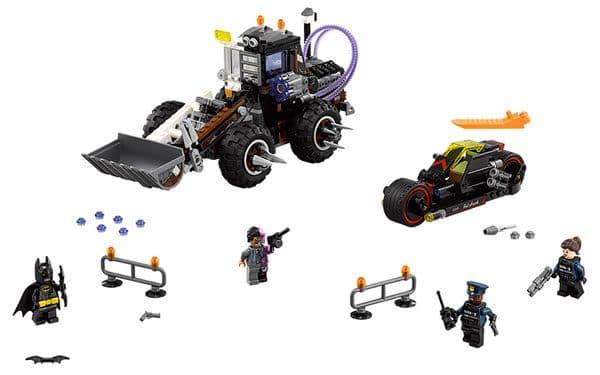 The LEGO Batman Movie : 70915 Two-Face Double Demolition