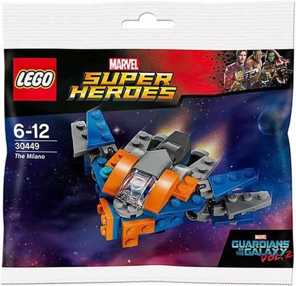 Polybag LEGO Marvel 30449 The Milano : Premier visuel