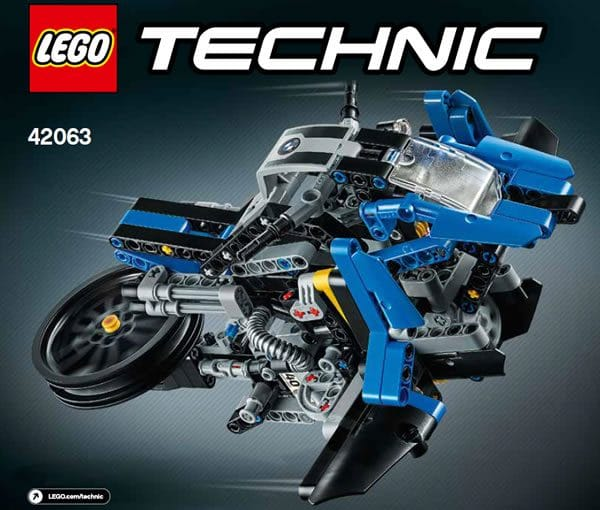 LEGO Technic® 42063 BMW R 1200 GS Adventure Design Concept Hover Ride
