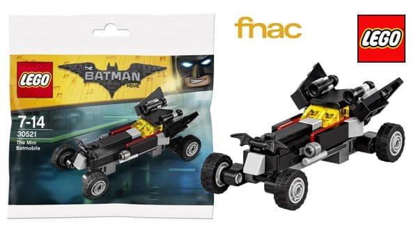 Sur FNAC.com : Polybag 30521 The Batmobile offert