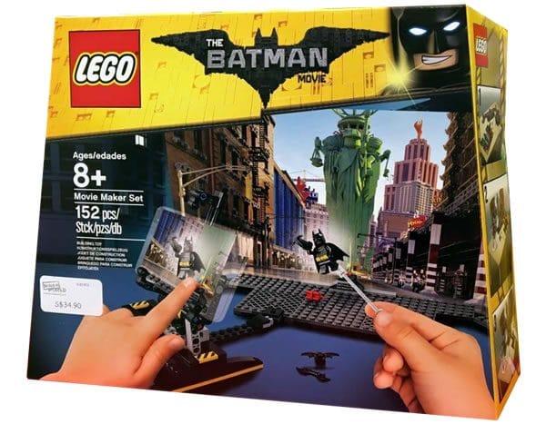 The LEGO Batman Movie Maker Set