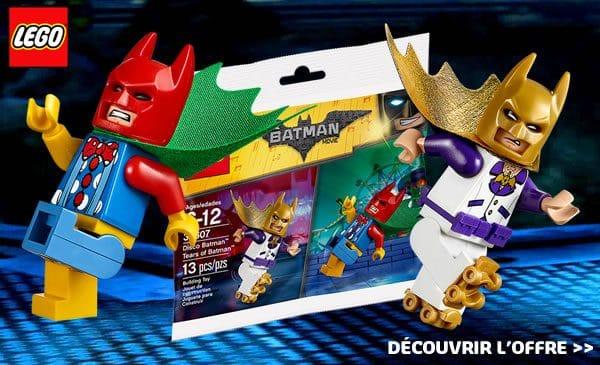 Sur le Shop@Home : Polybag 30607 Disco Batman & Tears of Batman offert