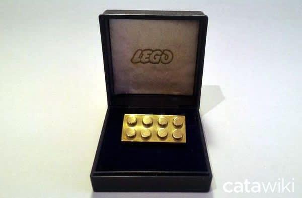 Employee Gift - 14k Solid Gold LEGO Employee Brick