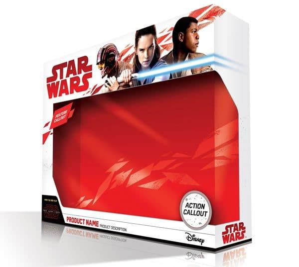 Force Friday II et packaging officiel pour les produits dérivés Star Wars The Last Jedi