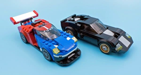 LEGO Speed Champions 75881 Ford GT 2016 & Ford 1966 GT40