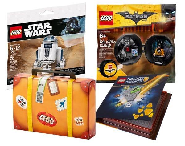 La minute géographie : Où sont les goodies LEGO ?