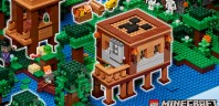 Expand the LEGO Minecraft Universe ! : les instructions du modèle gagnant