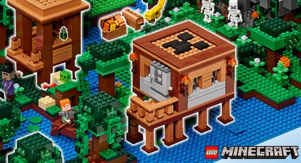 Expand the LEGO Minecraft Universe ! : les instructions du modèle gagnant