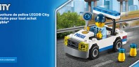 Sur le Shop@Home : Polybag CITY 30352 Police Car offert
