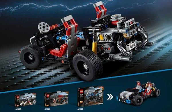 LEGO Technic : Les instructions du cadeau de LEGO pour le 40ème anniversaire de la gamme