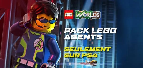 LEGO Worlds : Un DLC LEGO Agents exclusif sur PS4