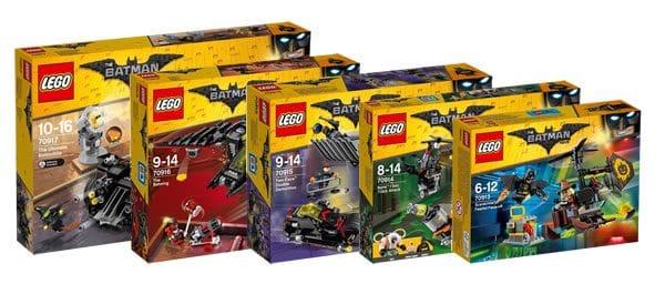 Nouveautés The LEGO Batman Movie du second semestre 2017 : les visuels officiels
