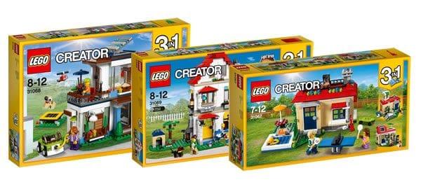 Nouveautés LEGO Creator du second semestre 2017 : quelques visuels officiels