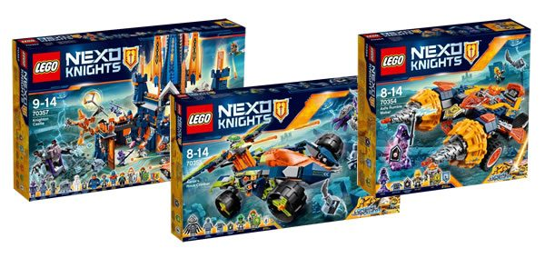 nouveaut s lego nexo knights du second semestre 2017 quelques visuels officiels hoth bricks. Black Bedroom Furniture Sets. Home Design Ideas