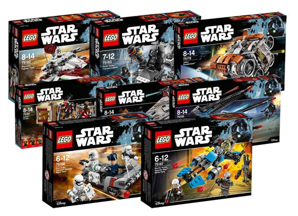 nouveaut s lego star wars du second semestre 2017 encore plus de visuels officiels hoth bricks. Black Bedroom Furniture Sets. Home Design Ideas