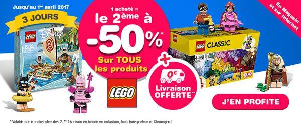 Le 2ème set LEGO acheté à -50% chez Toys R Us