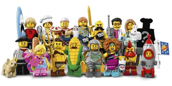 Lego 71018 collectible minifigures series 17 les visuels - Star wars personnages lego ...