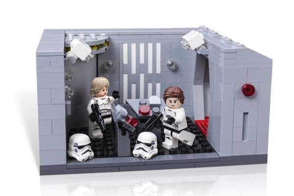 Set LEGO exclusif Star Wars Celebration 2017 : Detention Block Rescue