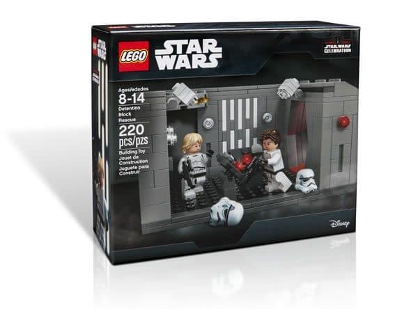 Set LEGO exclusif Star Wars Celebration 2017 : Detention Block Rescue