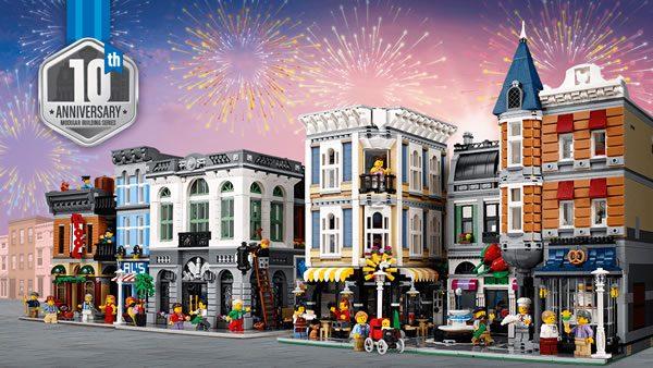 Vidéo LEGO : 10ème anniversaire de la gamme Modulars