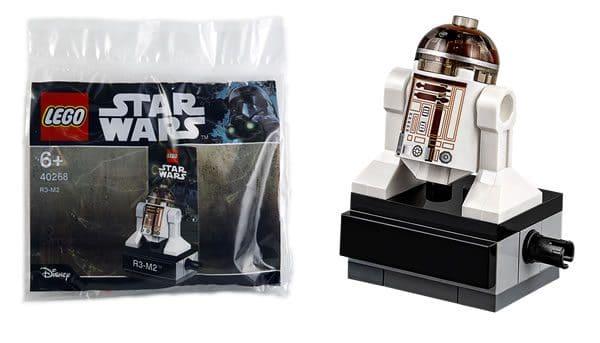 Polybag LEGO Star Wars 40268 R3-M2 : offert du 7 au 31 mai prochain