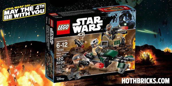 75164 Rebel Trooper Battle Pack