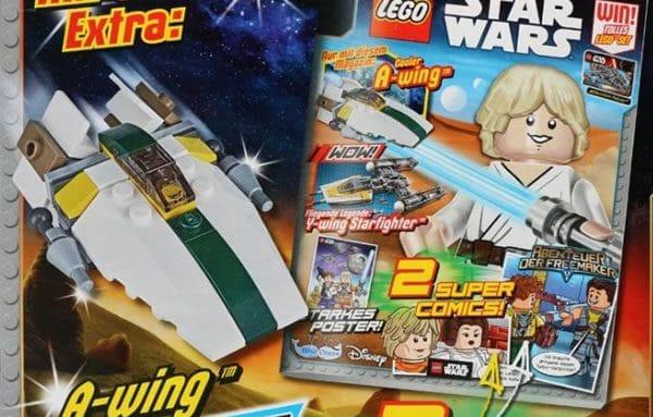 LEGO Star Wars Magazine : Un A-Wing avec le numéro de juin 2017
