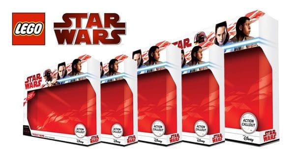LEGO Star Wars The Last Jedi : Première liste de prix publics pour les sets prévus