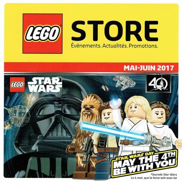 Le Store Calendar LEGO de mai/juin 2017 est disponible