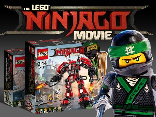 The LEGO Ninjago Movie : Quelques infos sur les sets prévus