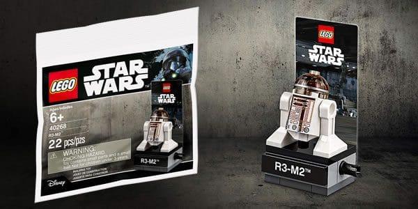 Sur le Shop@Home : Un polybag LEGO Star Wars chasse l'autre...