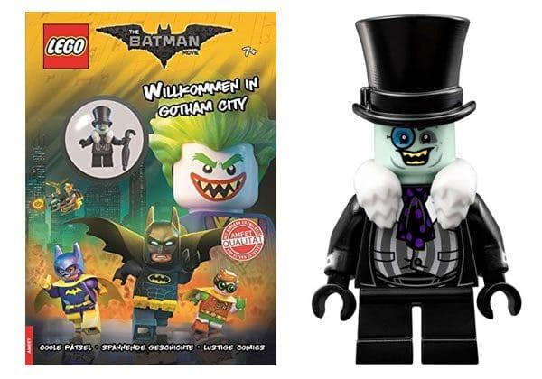 The Penguin avec le prochain Activity Book The LEGO Batman Movie