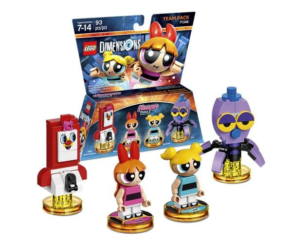 71346 LEGO Dimensions The Powerpuff Girls Team Pack